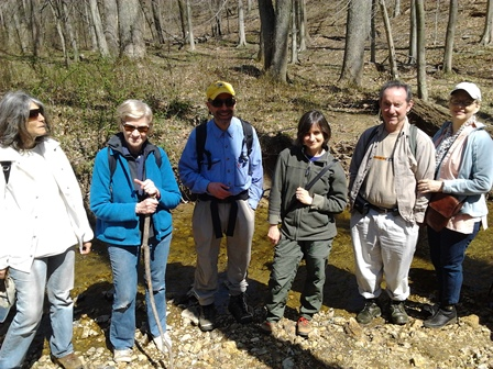 April 13 2013 hike to Ten Mile Creek